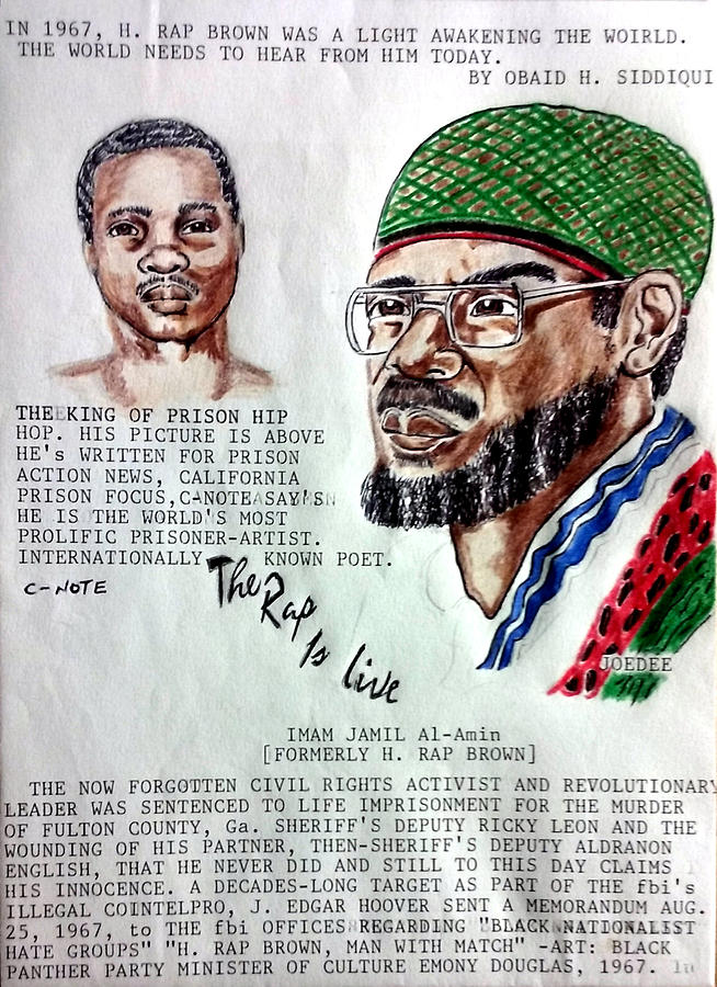 H. Rap Brown featuring C-Note  by Joedee