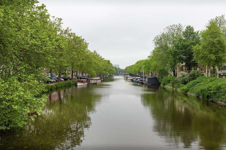 Haarlem Canal by Georgia Fowler