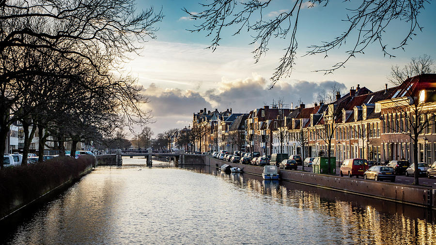 Holland Photograph - Haarlem Sunset by Framing Places