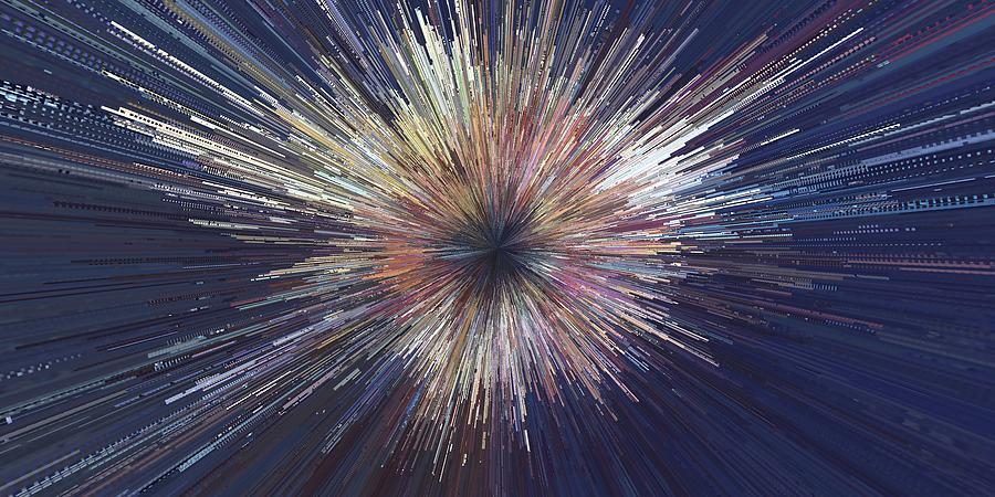Hadron Collision by David Manlove