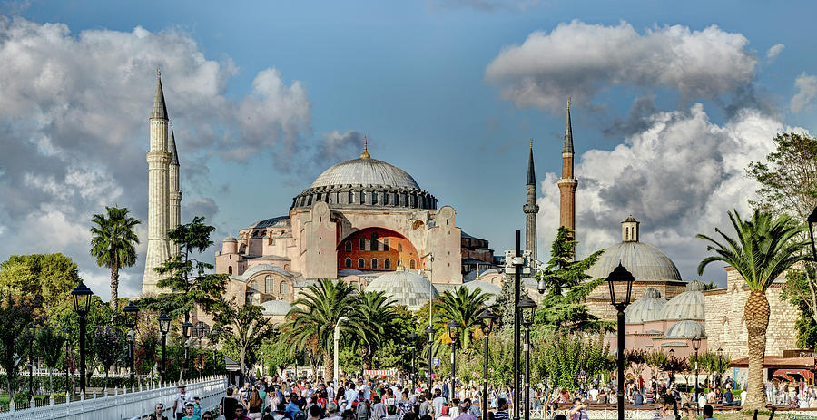 Hagia Sophia 08 by Weston Westmoreland
