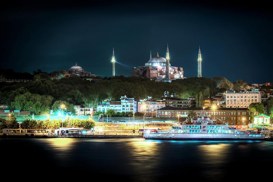Hagia Sophia by David Morefield