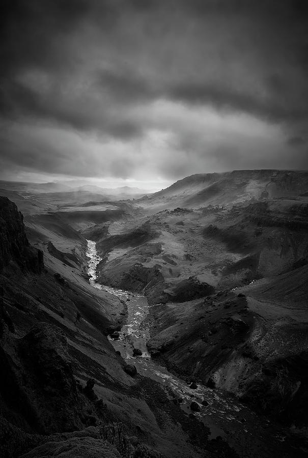 Haifoss Valley II by Jon Glaser