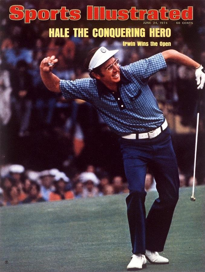 Hale Irwin, 1974 Us Open Sports Illustrated Cover Photograph by Sports Illustrated