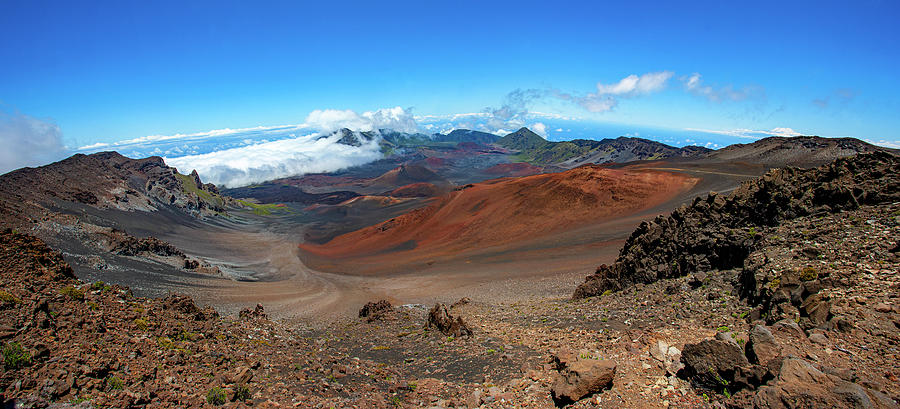 Haleakala Crater Panoramic by Anthony Jones