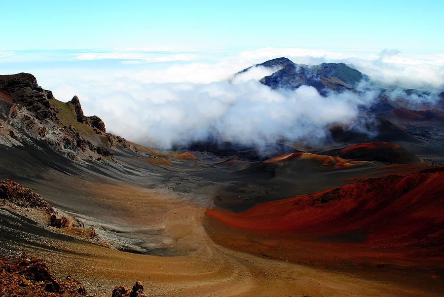 Haleakala Crater by Robert Stanhope