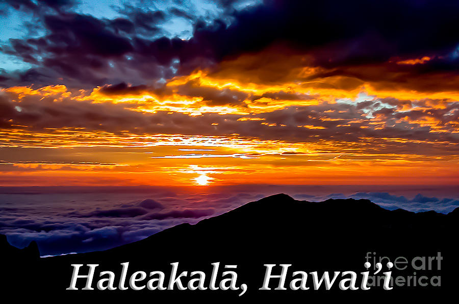 Haleakala Photograph - Haleakala Hawaii by G Matthew Laughton