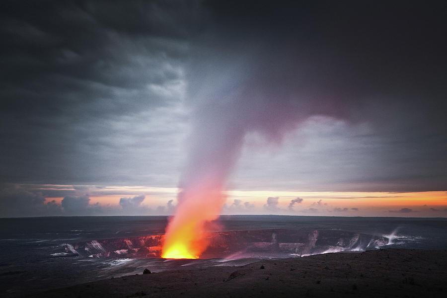 Halemaumau Crater Photograph by Darren Woolridge Photography - Www.darrenwoolridge.com