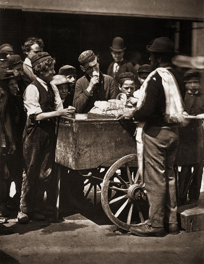 Halfpenny Ices Photograph by John Thomson