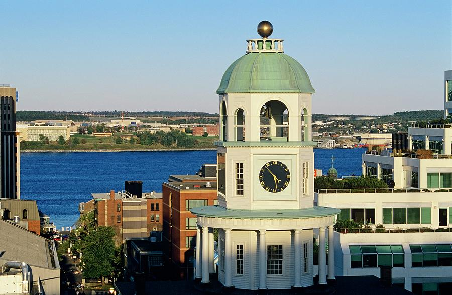 Halifax Clock Tower As Viewed From The Photograph by Bilderbuch   / Design Pics
