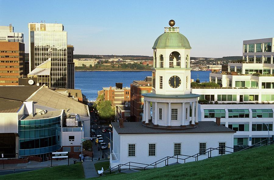 Halifax Clock Tower, Halifax, Nova Photograph by Bilderbuch   / Design Pics
