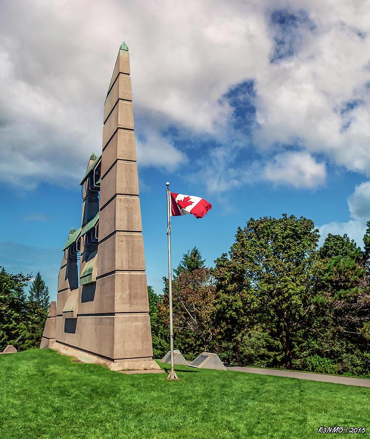 1917 Photograph - Halifax Explosion Memorial Bell Tower by Ken Morris