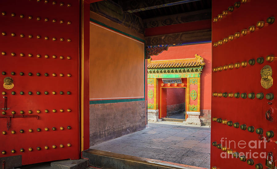 Asia Photograph - Hall Of Earthly Tranquility by Inge Johnsson