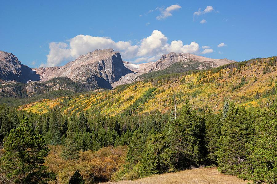 Hallett and Flattop - Autumn by Aaron Spong