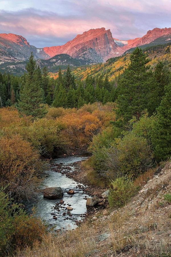 Hallette Peak Autumn by Aaron Spong