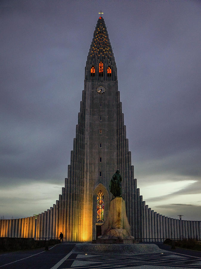 Iceland Photograph - Hallgrimskirkja by Framing Places
