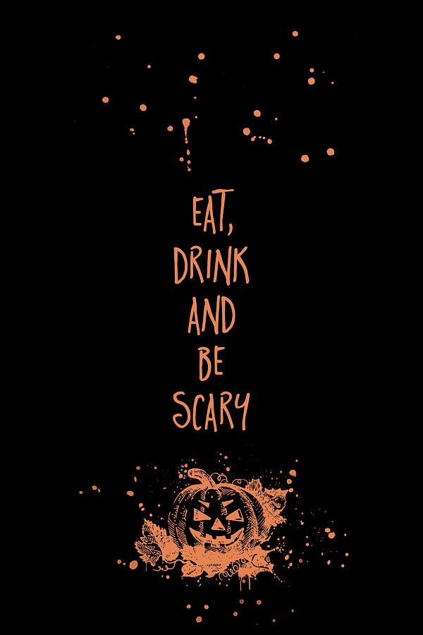 6fbd25f7283 Halloween Digital Art - Halloween Eat