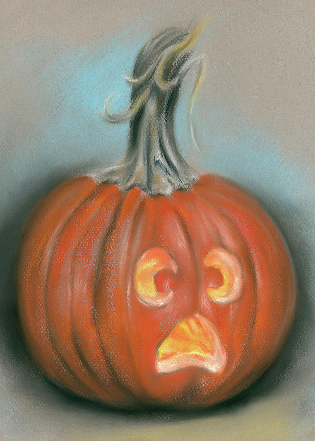 Halloween Jack O Lantern Pumpkin by MM Anderson