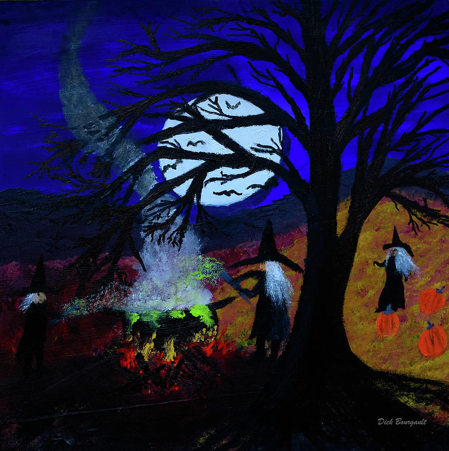 Halloween Night by Dick Bourgault