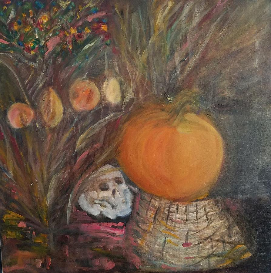Halloween Pumpkin by Beverly Smith