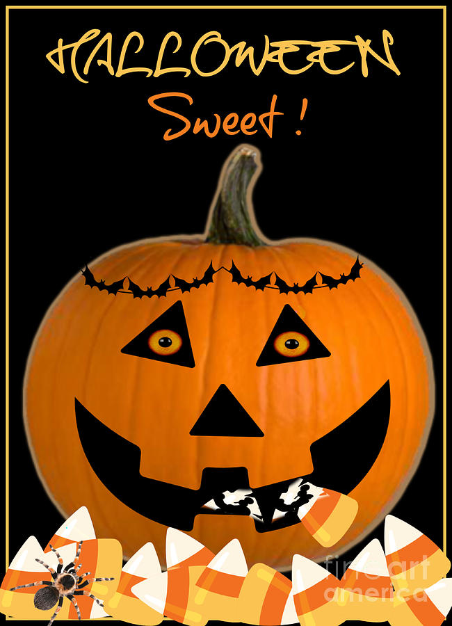 Halloween Sweet Digital Art