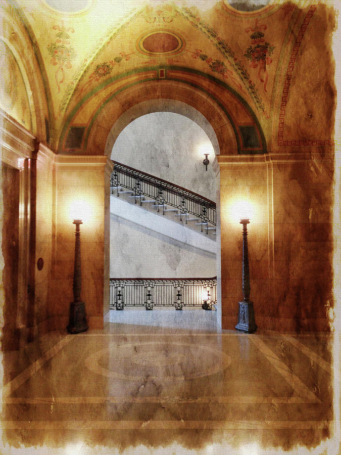 Halls of Government by Tom Reynen
