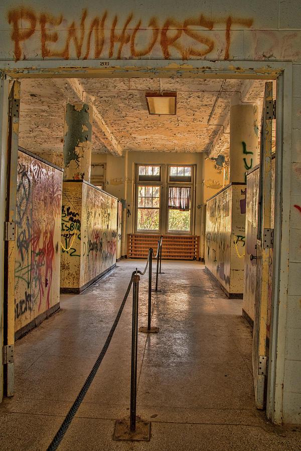 Halls of Pennhurst by Kristia Adams