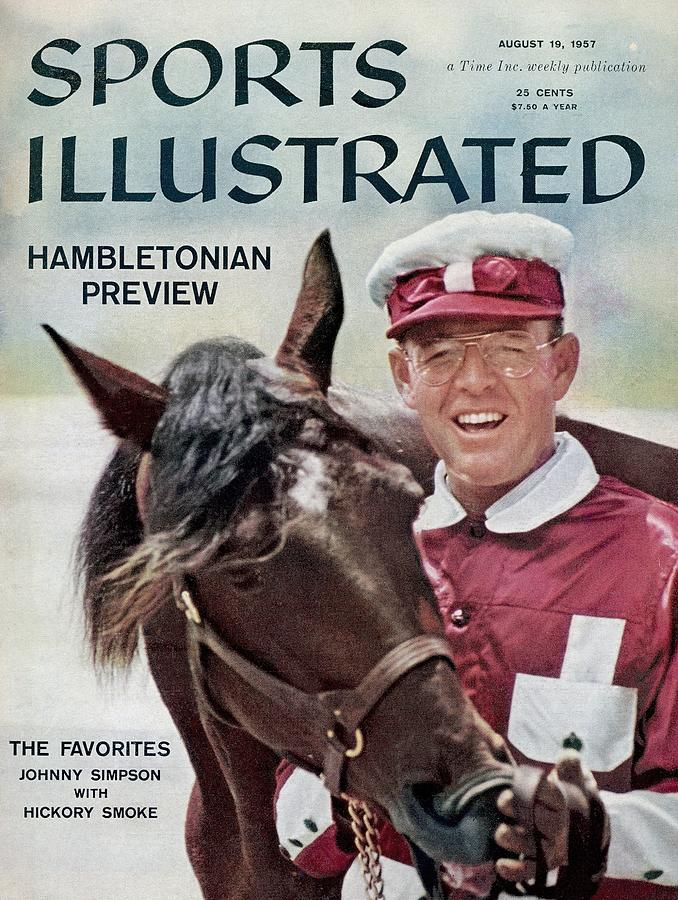 Hambletonian Harness Preview Sports Illustrated Cover Photograph by Sports Illustrated