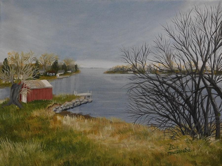 Landscape Painting - Hamilton Island by Lisa MacDonald