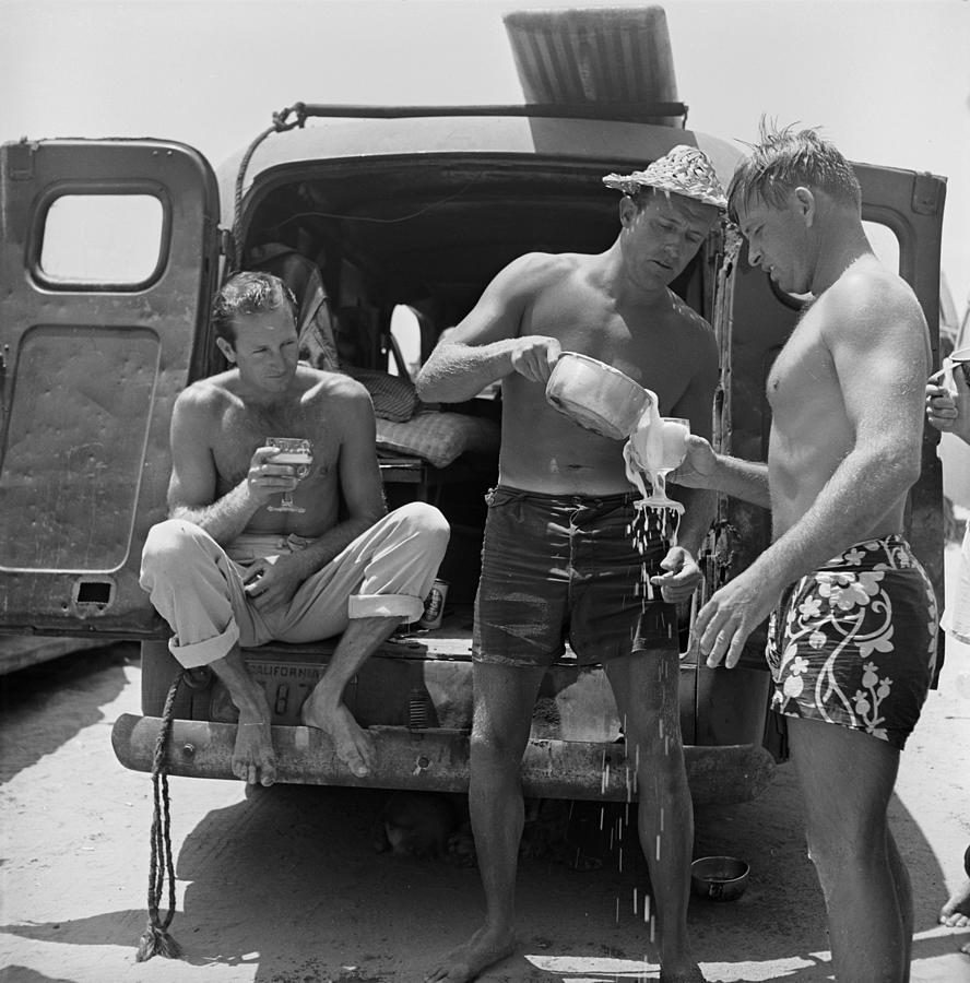 Hammerhead Gravage Photograph by Loomis Dean