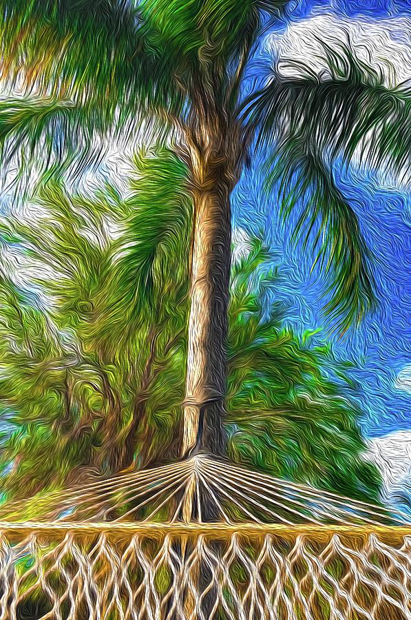 Hammock in Paradise Impression #1 by Dimitris Sivyllis