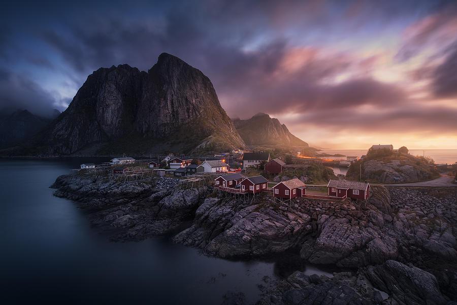 Hamnoy Dawn Photograph by Carlos F. Turienzo