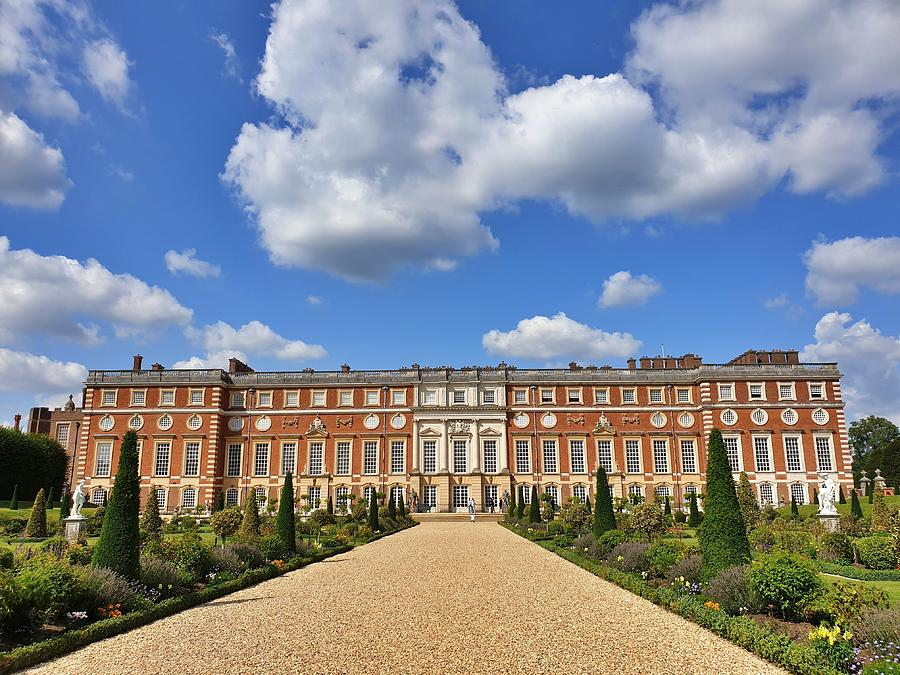 Hampton Court Palace by Andrea Whitaker