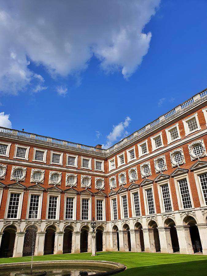 Hampton Palace Angles by Andrea Whitaker