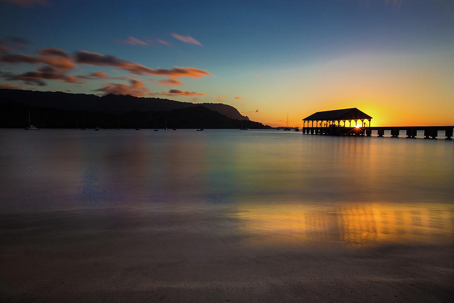 Hanalei Bay Sunset 3 by John and Nicolle Hearne