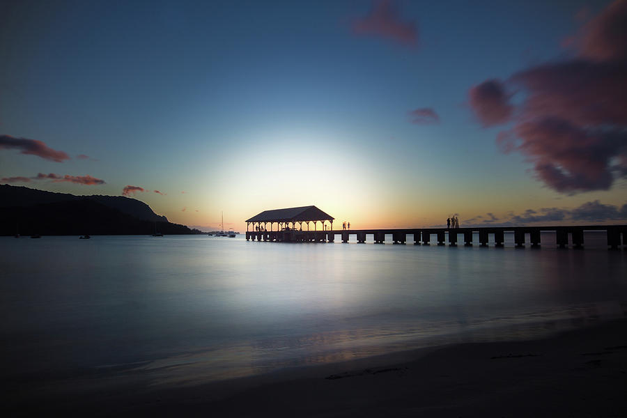 Hanalei Sunset by John and Nicolle Hearne