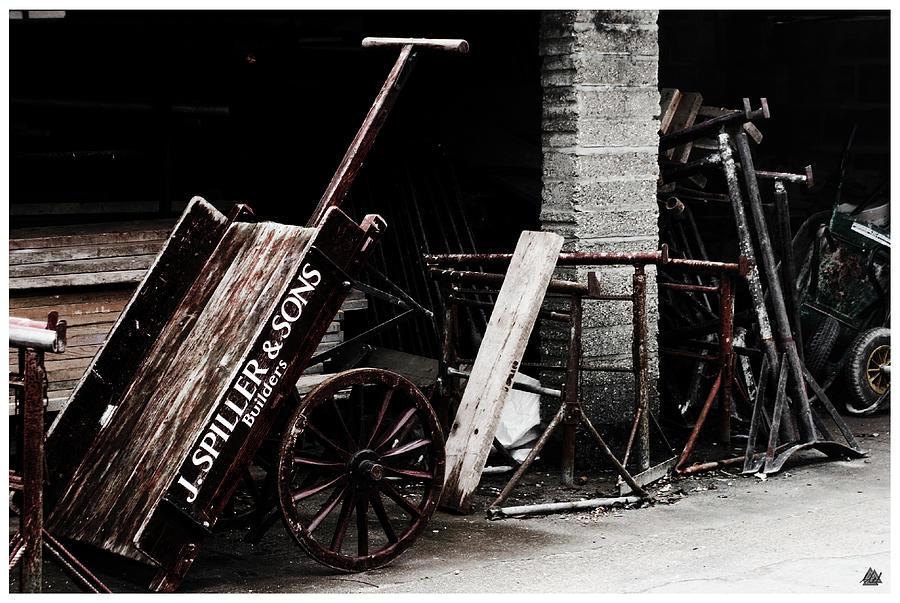 Hand Cart. Photograph