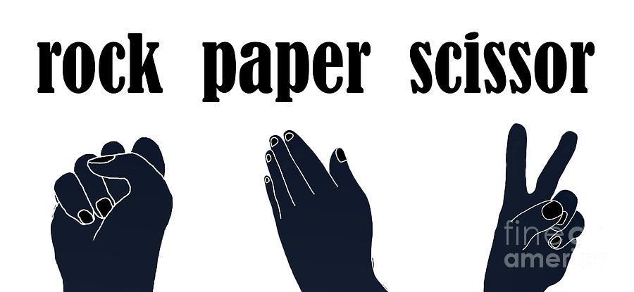 Hand Games Digital Art