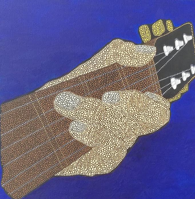 Hand Guitar by KRISTIN MCDONNEL