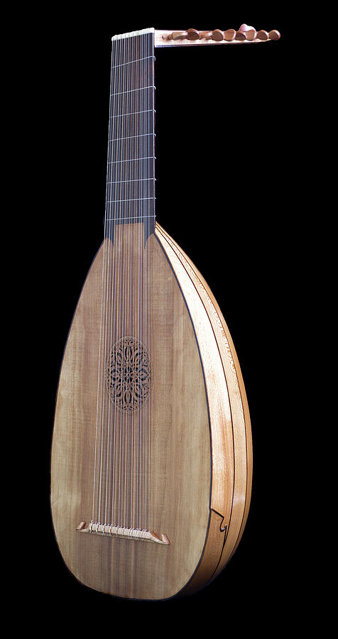 Hand-made Lute by Rick Veldman