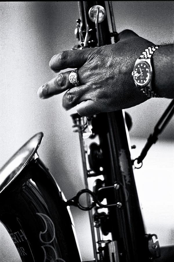 Hand of Ron Holloway by Bill Jonscher