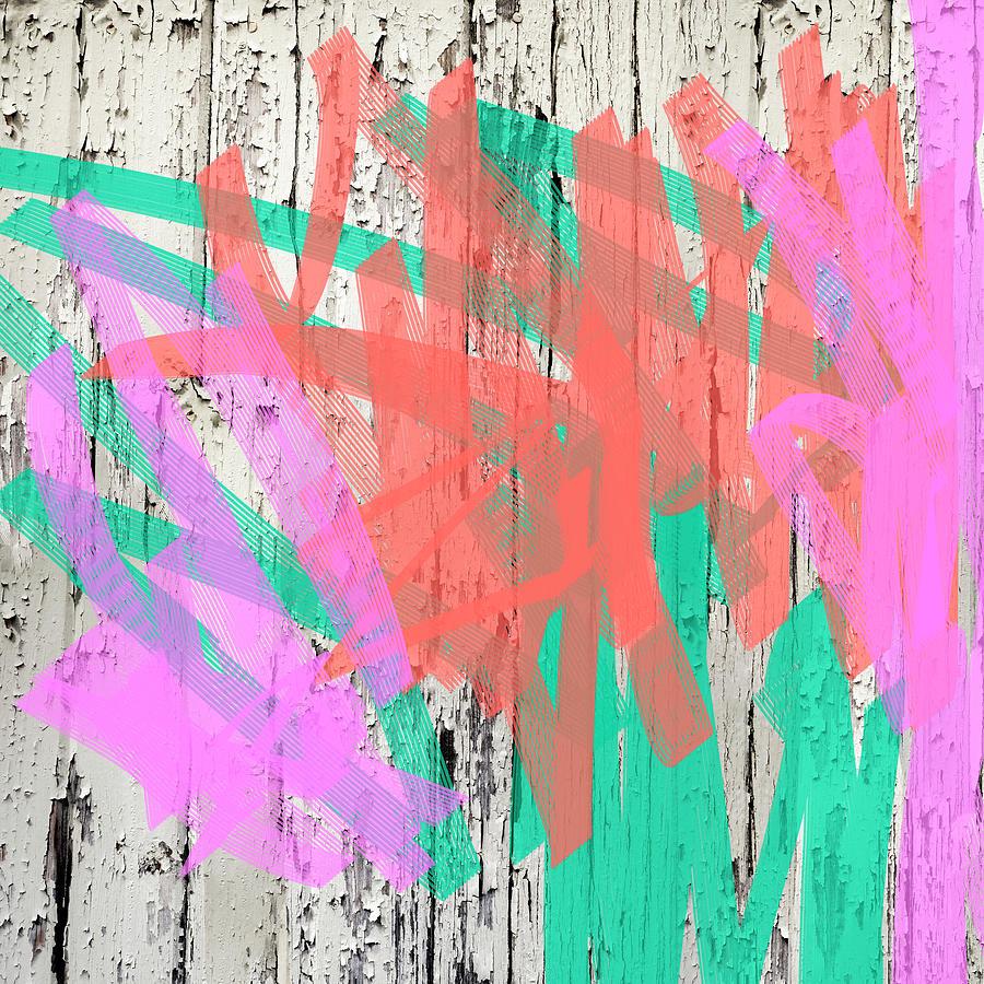 Joyful Graffiti by Marianne Campolongo