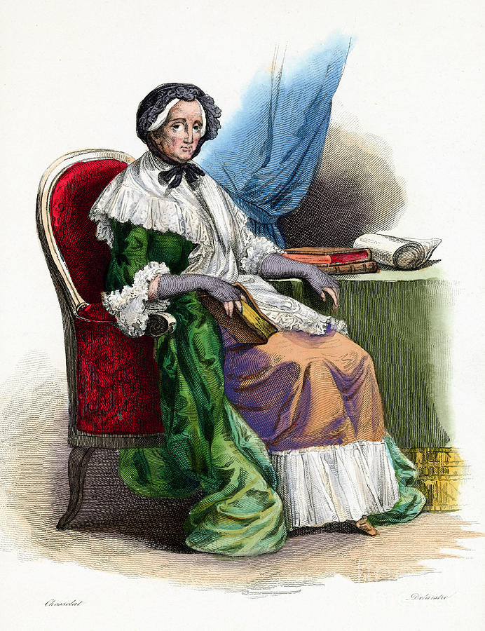 Hand-tinted Engraving Of Marie-therese Photograph by Bettmann