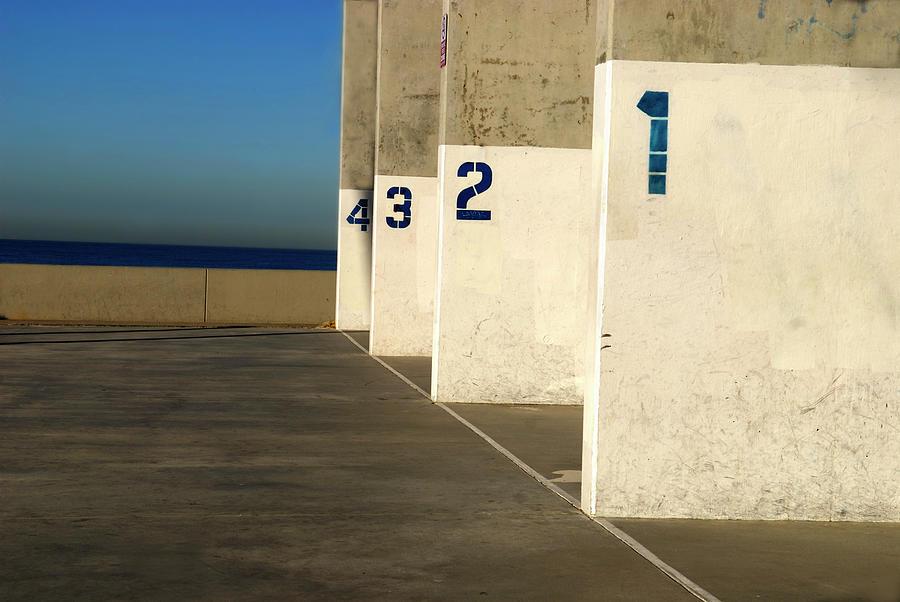 Handball Courts Photograph by Bgwalker