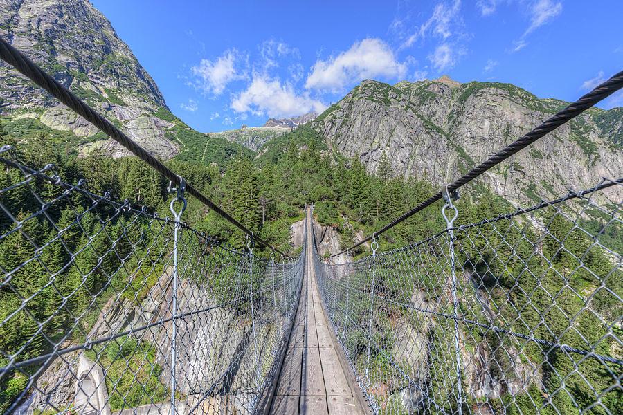 Handeckfall Bridge - Switzerland by Joana Kruse