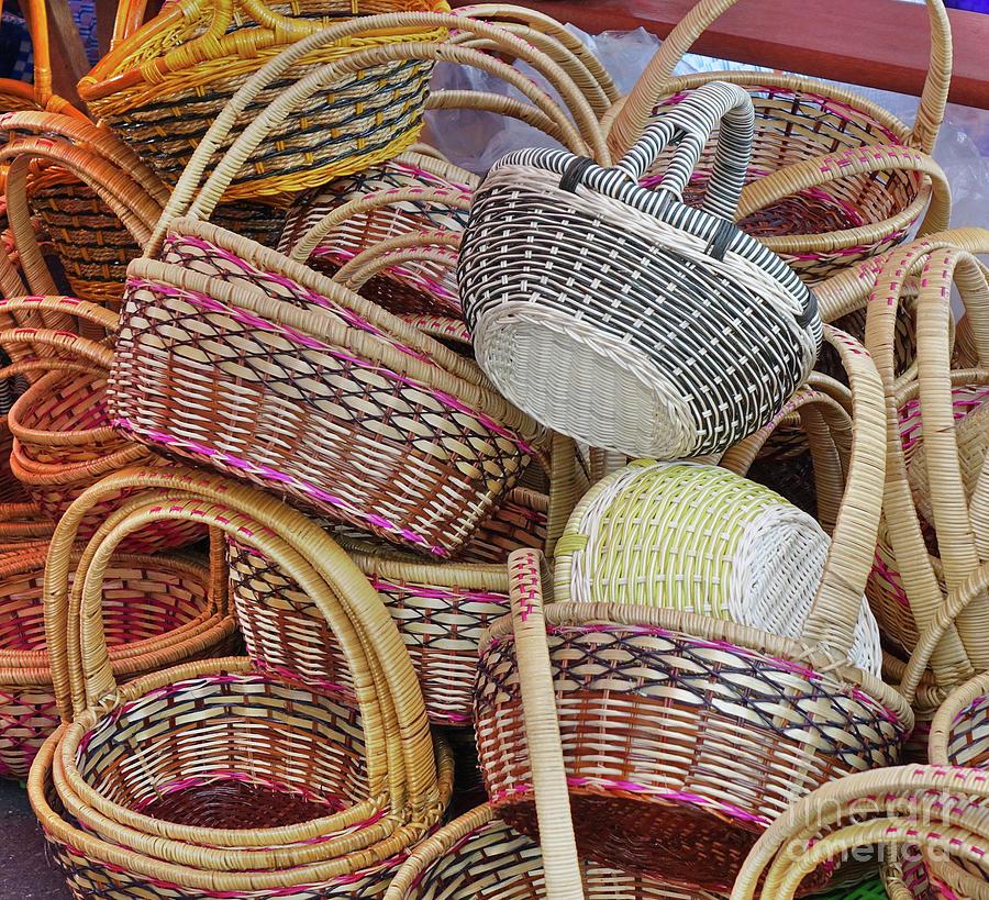Handmade Baskets For Sale by Yali Shi