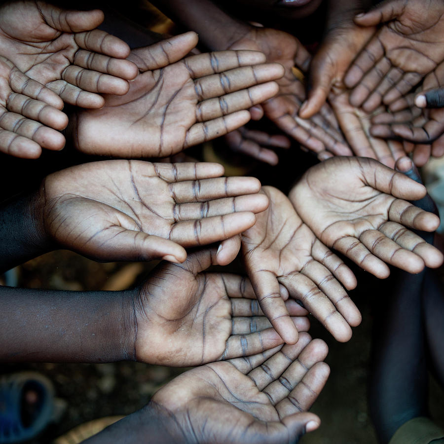 Hands Of African Children, Need Help Photograph by Uygargeographic
