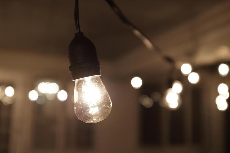 Hanging Indoor Lights by Doug Ash