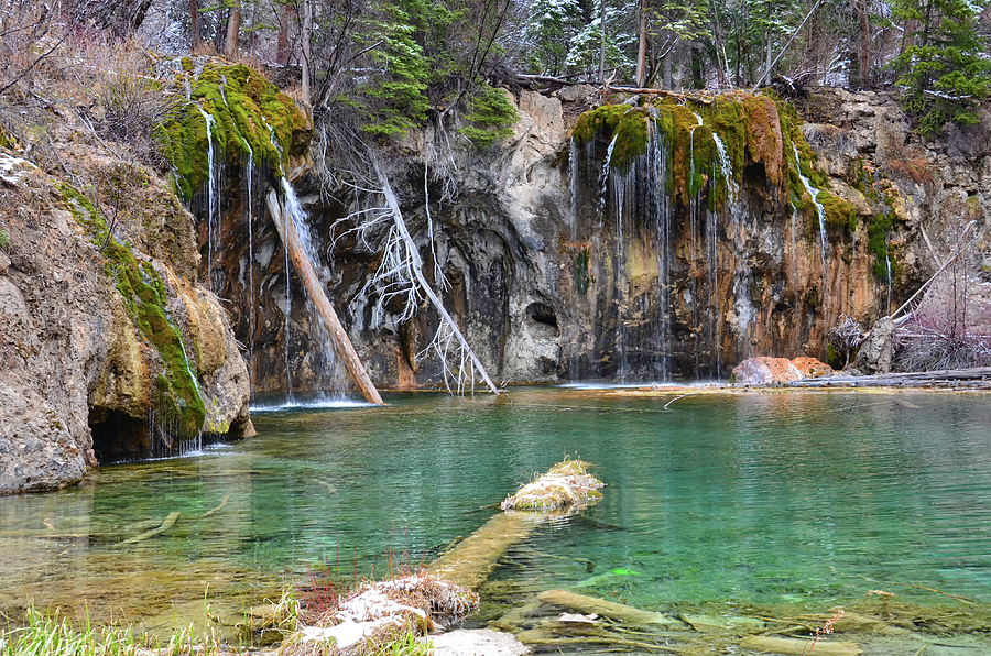 Hanging Lake 1 by Angelina Tamez