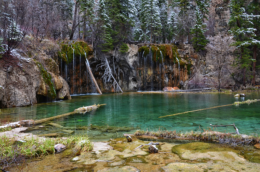 Hanging Lake 2 by Angelina Tamez